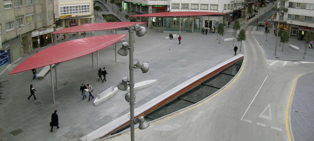parking Praza Roxa